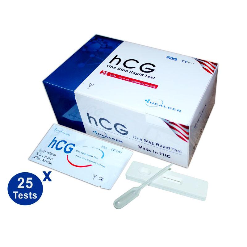 test de grossesse hcg healgen maroc
